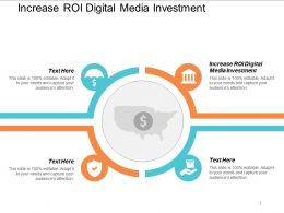 Increase Roi Digital Media Investment Ppt Powerpoint Presentation Styles Elements Cpb