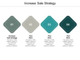 Increase Sale Strategy Ppt Powerpoint Presentation Ideas Aids Cpb
