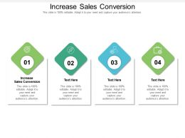 Increase Sales Conversion Ppt Powerpoint Presentation File Background Designs Cpb