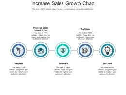 Increase Sales Growth Chart Ppt Powerpoint Presentation File Templates Cpb