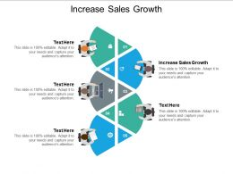 Increase Sales Growth Ppt Powerpoint Presentation Portfolio Portrait Cpb