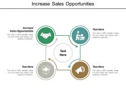 Increase Sales Opportunities Ppt Powerpoint Presentation Outline Slide Portrait Cpb