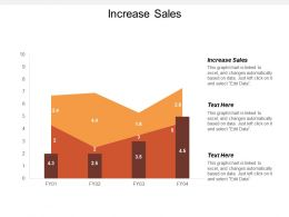 Increase Sales Ppt Powerpoint Presentation Gallery Templates Cpb