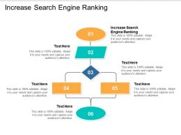 Increase Search Engine Ranking Ppt Powerpoint Presentation Model Show Cpb