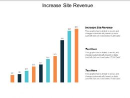Increase Site Revenue Ppt Powerpoint Presentation Gallery Rules Cpb