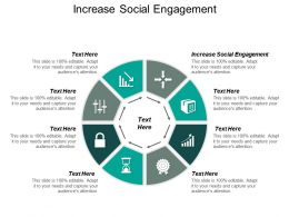 Increase Social Engagement Powerpoint Presentation Styles Example Topic Cpb