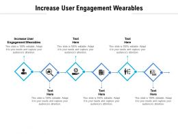 Increase User Engagement Wearables Ppt Powerpoint Presentation Portfolio Elements Cpb