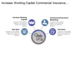 Increase Working Capital Commercial Insurance Marketing B2b Sales Experience Cpb