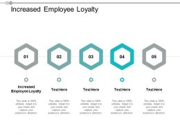 Increased Employee Loyalty Ppt Powerpoint Presentation Layouts Picture Cpb