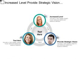 Increased Level Provide Strategic Vision Technology Related Challenges