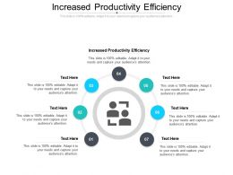 Increased Productivity Efficiency Ppt Powerpoint Presentation Visual Aids Cpb