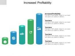 Increased Profitability Ppt Powerpoint Presentation Pictures Ideas Cpb