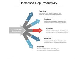 Increased Rep Productivity Ppt Powerpoint Presentation Sample Cpb