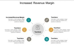Increased Revenue Margin Ppt Powerpoint Presentation Gallery Guidelines Cpb