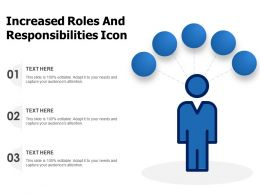 Increased Roles And Responsibilities Icon
