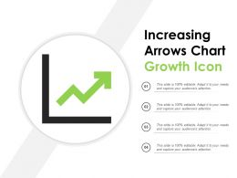 Increasing Arrows Chart Growth Icon