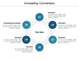 Increasing Conversion Ppt Powerpoint Presentation Gallery Sample Cpb