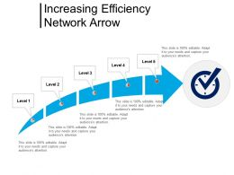 Increasing Efficiency Network Arrow