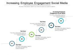 Increasing Employee Engagement Social Media Ppt Powerpoint Presentation Layouts Portfolio Cpb