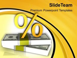 Increasing Interest Rate On Finance Business Concept PowerPoint Templates PPT Themes And Graphics 0513