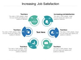 Increasing Job Satisfaction Ppt Powerpoint Presentation File Visual Aids Cpb