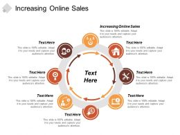 Increasing Online Sales Ppt Powerpoint Presentation Show Elements Cpb