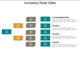 Increasing Retail Sales Ppt Powerpoint Presentation Infographics Brochure Cpb
