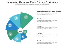 Increasing Revenue From Current Customers Ppt Powerpoint Presentation Icon Format Ideas Cpb