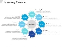 Increasing Revenue Ppt Powerpoint Presentation File Background Images Cpb