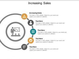 Increasing Sales Ppt Powerpoint Presentation Slides Demonstration Cpb