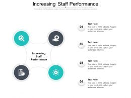 Increasing Staff Performance Ppt Powerpoint Model Graphics Pictures Cpb