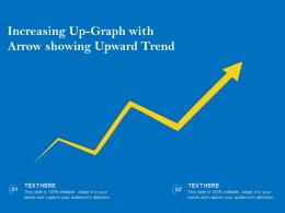 Increasing Up Graph With Arrow Showing Upward Trend