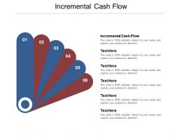 Incremental Cash Flow Ppt Powerpoint Presentation Model Backgrounds Cpb