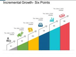 Incremental Growth Six Points