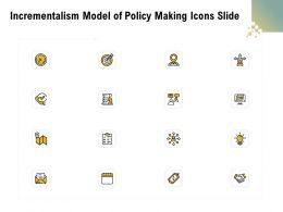 Incrementalism Model Of Policy Making Icons Slide Ppt Powerpoint Presentation Gallery Rules