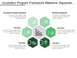 Incubation Program Framework Milestone Signposts Unique Combination Processes
