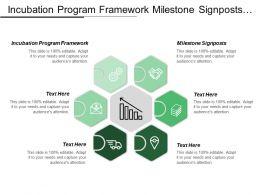 Incubation Program Framework Milestone Signposts Unique Combination Processes