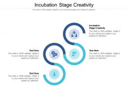 Incubation Stage Creativity Ppt Powerpoint Presentation Styles Images Cpb