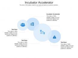 Incubator Accelerator Ppt Powerpoint Presentation Ideas Graphics Cpb