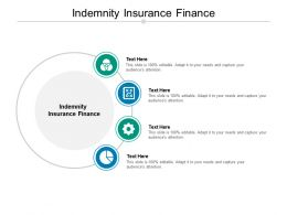 Indemnity Insurance Finance Ppt Powerpoint Presentation Model Background Image Cpb