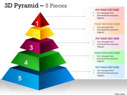 Independent 5 Staged Triangle For Marketing