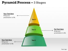 Independent Pyramid Process With 3 Stages