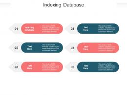 Indexing Database Ppt Powerpoint Presentation Icon Outline Cpb