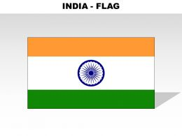 India Country Powerpoint Flags