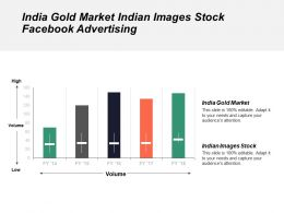 India Gold Market Indian Images Stock Facebook Advertising Cpb