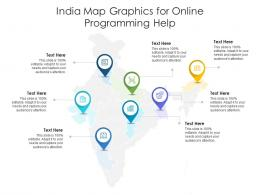 India Map Graphics For Online Programming Help Infographic Template
