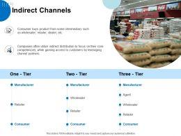 Indirect Channels Ppt Powerpoint Presentation Portfolio Grid