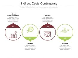 Indirect Costs Contingency Ppt Powerpoint Presentation Outline Background Images Cpb
