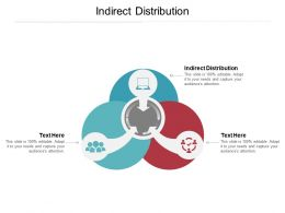 Indirect Distribution Ppt Powerpoint Presentation Model Diagrams Cpb