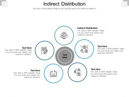 Indirect Distribution Ppt Powerpoint Presentation Pictures Model Cpb